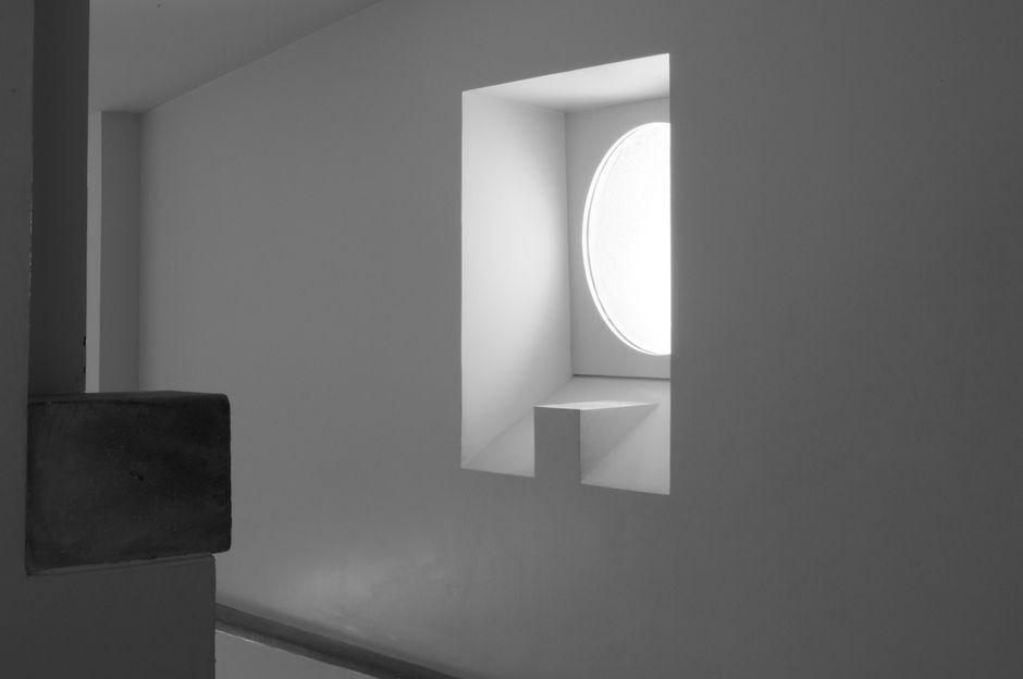 Roland Simounet, Éléments architecturaux pour le musée Picasso Paris, 1985. © Musée Picasso Paris / Béatrice Hatala, 2011